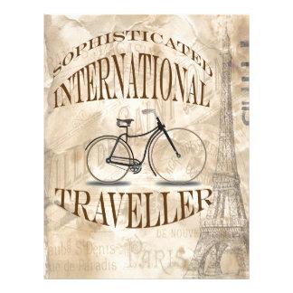 Sophisticated International Traveller Letterhead Template