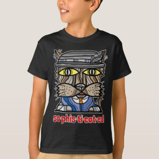 """""""Sophisticated"""" Kids' Hanes TAGLESS® T-Shirt"""
