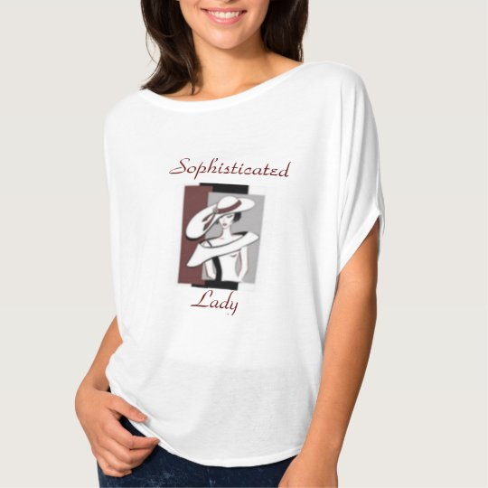 Sophisticated Lady Fashion T=shirt T-Shirt