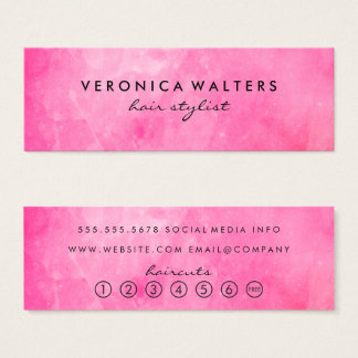 Sophisticated Loyalty Mini Business Card