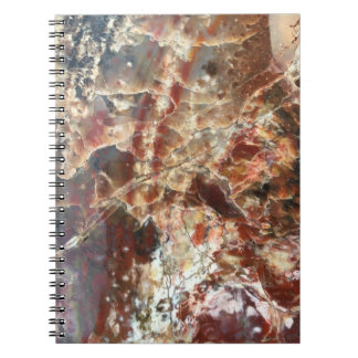 Sophisticated Red & White Notebook