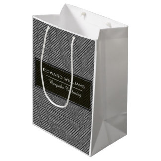 Sophistication Professional Men's Fashion Bespoke Medium Gift Bag