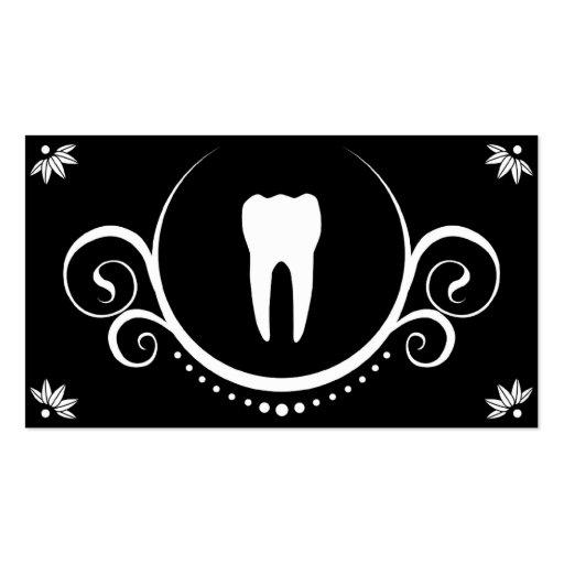 sophistications dentaires modèles de cartes de visite
