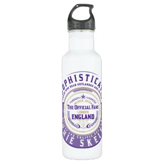 "Sophisticats ""Badge"" Water Bottle"