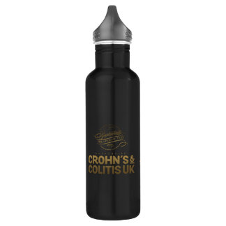 Sophisticats Cameo In Gold Water Bottle