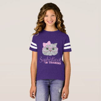 "Sophisticats ""In Training"" for Young Ladies T-Shirt"
