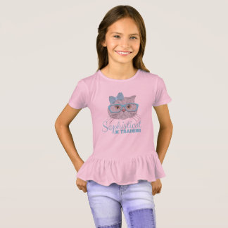 """Sophisticats """"In Training"""" for Young Ladies T-Shirt"""