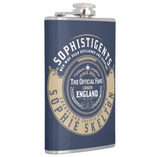 """SophistiGENTS """"Badge"""" Flask"""