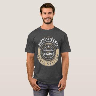 """SophistiGENTS """"Blue/White Badge"""" for Men T-Shirt"""