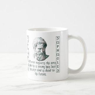 Sophocles Classic White Coffee Mug