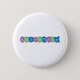 Sophomore 2 Inch Round Button
