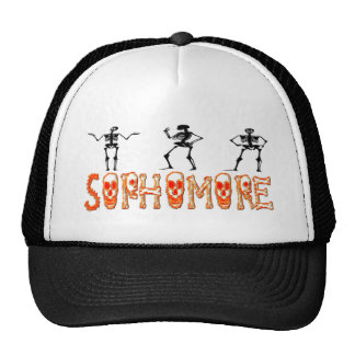 Sophomore - Skeletons Trucker Hat