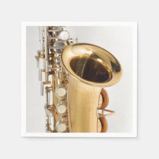 Soprano Saxophone Napkin Paper Napkins