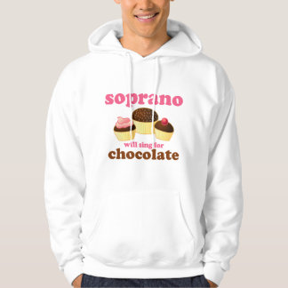 Soprano will Sing for Chocolate Hoodie