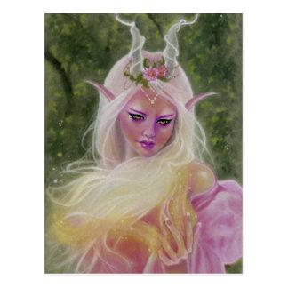Sorceress of Light magic Postcard