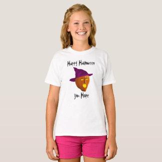 Sorcière de citrouille : Halloween heureux - vous T-shirt