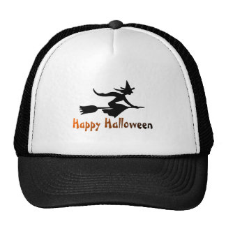 Sorcière heureuse de Halloween Casquettes De Camionneur