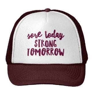 Sore Today Strong Tomorrow Custom Trucker Hat