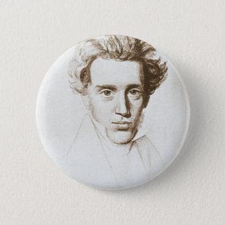 Søren Kierkegaard - Existentialist Philosopher 2 Inch Round Button