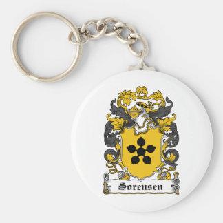 Sorensen Family Crest Keychains