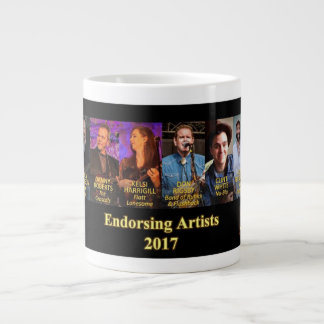 Sorensen Mandolins Endorsing Artists, Spring 2017 Large Coffee Mug
