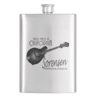 Sorensen Mandolins handy hip flask