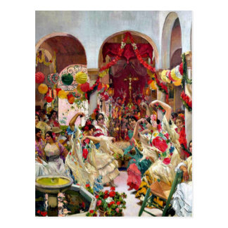 Sorolla: Seville-The Dance Postcard