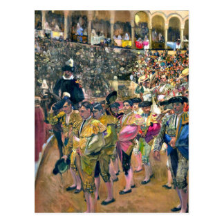 Sorolla - The Bullfighter Postcard
