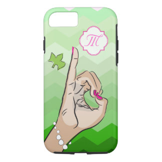 Sorority Life pink and green Case-Mate iPhone Case