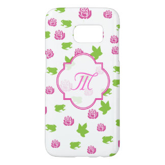 Sorority Life pink and green Samsung Galaxy S7 Case