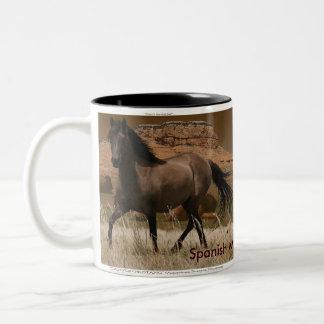 Sorraia Spanish Mustang Horse-Lover's Drinking Mug