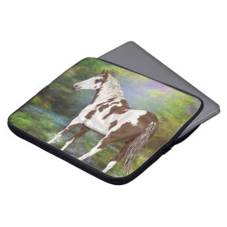 Sorrel Tovero Paint Horse Print Laptop Sleeve