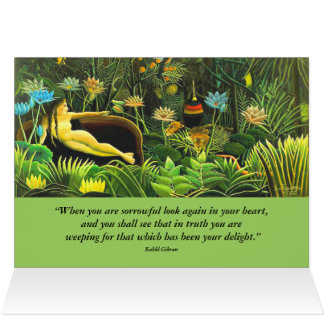 sorrow and delight card