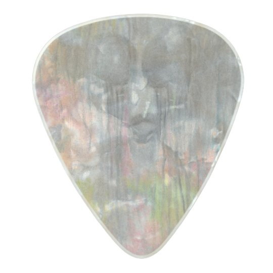 """""""Sorrow Falls"""" Message guitar pick by CFW Pearl Celluloid Guitar Pick"""
