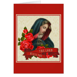 Sorrowful Mother Mary Mater Dolorosa Card