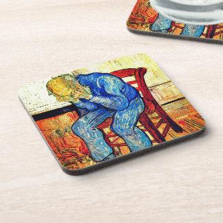 Sorrowing Old Man By Van Gogh Coasters