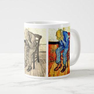 Sorrowing Old Man By Van Gogh Giant Coffee Mug