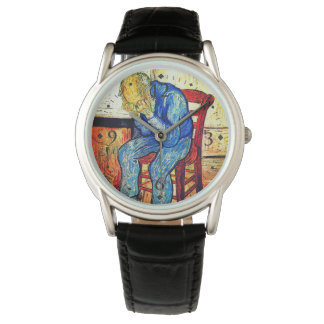 Sorrowing Old Man By Van Gogh Wristwatches