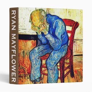Sorrowing Old Man Van Gogh 3 Ring Binder