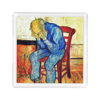 Sorrowing Old Man Van Gogh Acrylic Tray