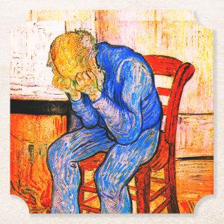 Sorrowing Old Man Van Gogh Paper Coaster