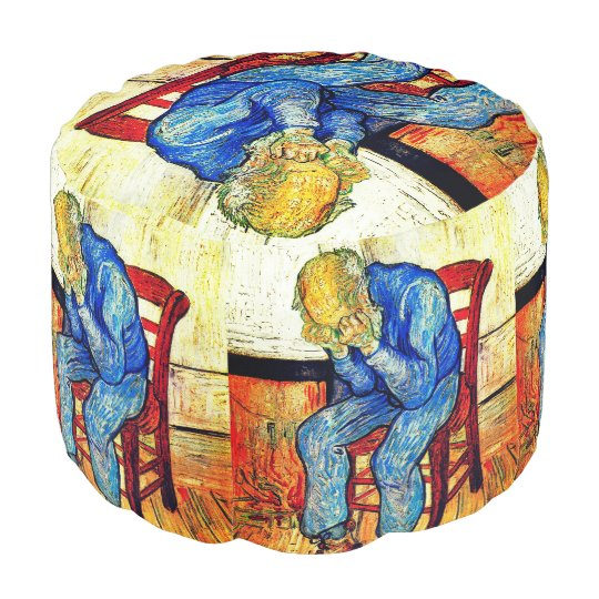 Sorrowing Old Man Van Gogh Pouf