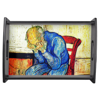 Sorrowing Old Man Van Gogh Serving Tray