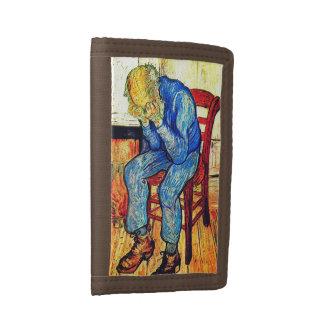 Sorrowing Old Man Van Gogh Trifold Wallet