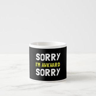 Sorry Awkward Espresso Mug