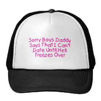 Sorry Boys Trucker Hat