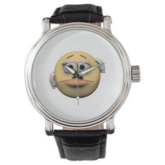 Sorry female emoticon watch