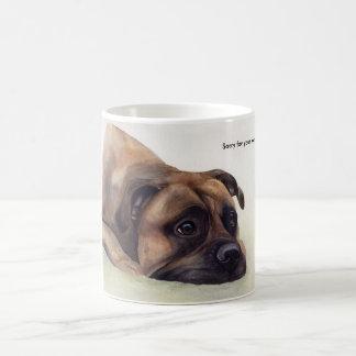 Sorry for your loss pet gift coffee mug
