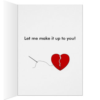 Sorry I Broke Your Heart Card