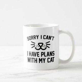 Sorry I Can't Coffee Mug